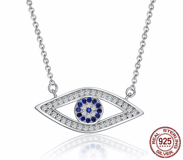 Sterling Silver Protection Pendant & Necklace - CrumelsWorld