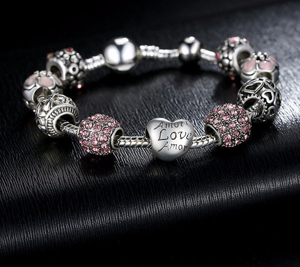 Heart Charms Bracelet - CrumelsWorld
