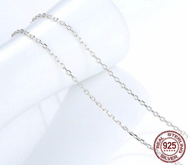Sterling Silver Adjustable Chain - CrumelsWorld