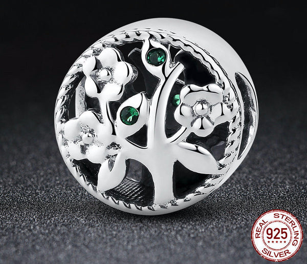 Sterling Silver Tree of Life Charm - CrumelsWorld