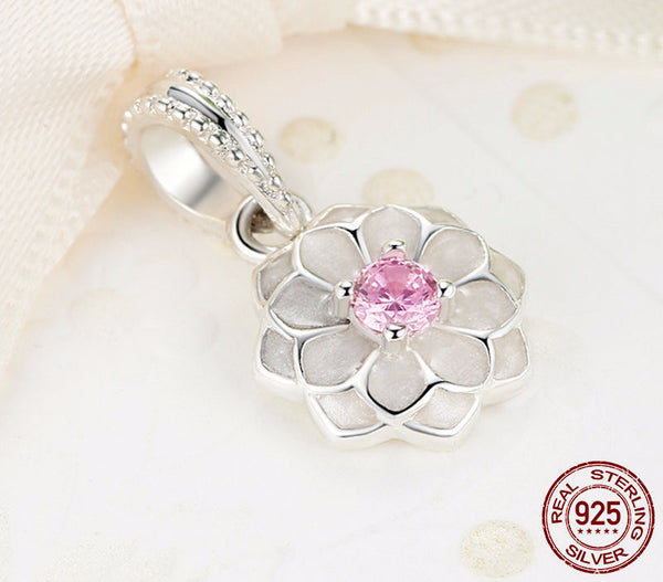 Sterling Silver Blooming Dahlia Set - CrumelsWorld