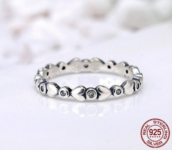 Sterling Silver Forever Loved Ring - CrumelsWorld