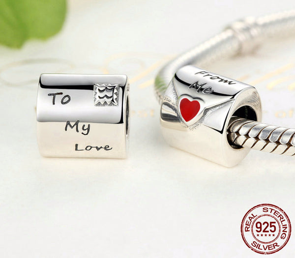 Sterling Silver To My Love Charm - CrumelsWorld
