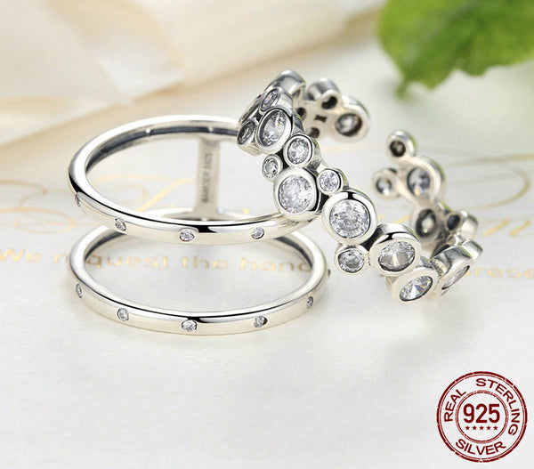 Sterling Silver Elegant Ring - CrumelsWorld