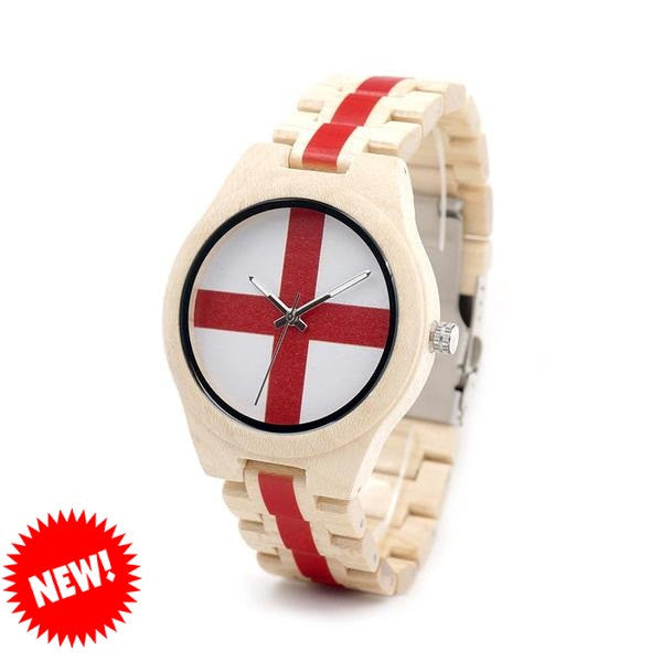 BOBO BIRD Maple Wood Watch Unisex
