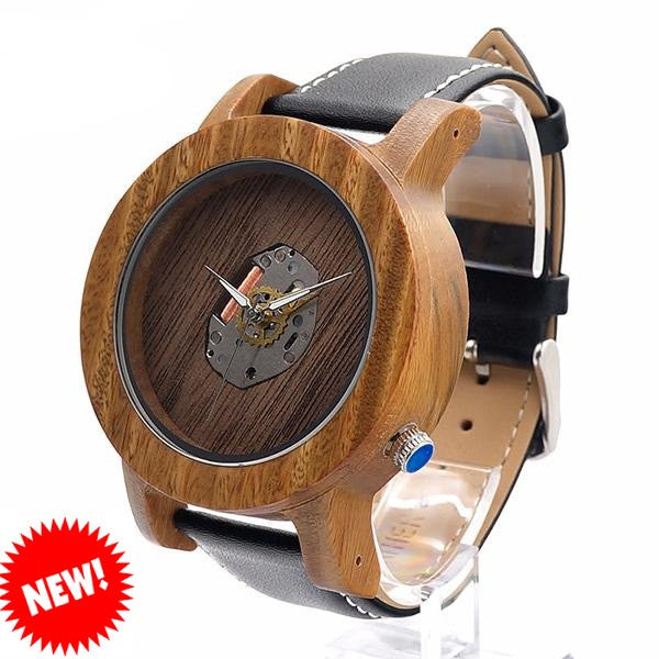 BOBO BIRD Sandal Wood Watch for Men