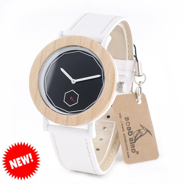 BOBO BIRD Sandal Wood Watch for Women