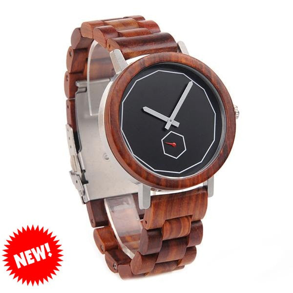 BOBO BIRD Luxury Wooden Watch for Men - CrumelsWorld