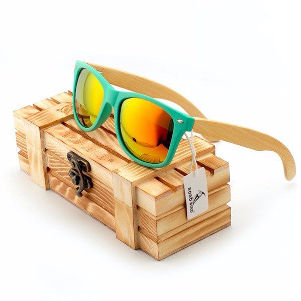 BOBO BIRD Bamboo Sunglasses - CrumelsWorld
