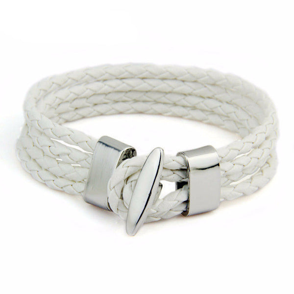 Leather Rope Bracelet - CrumelsWorld