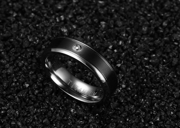Titanium Wedding Bands - CrumelsWorld