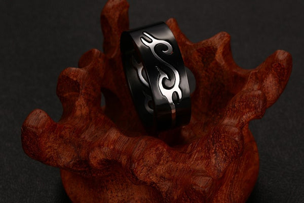 Stainless Steel Dragon Ring - CrumelsWorld