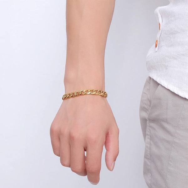 Stainless Steel Chain Bracelet - CrumelsWorld