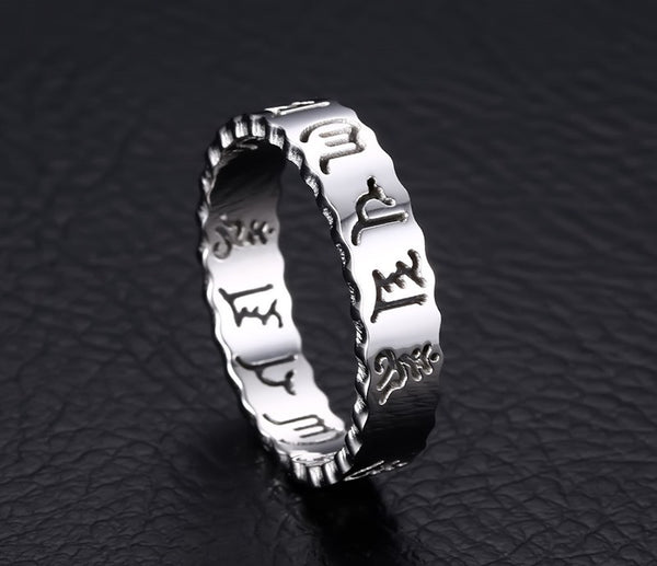 Stainless Steel Twelve Constellations Ring - CrumelsWorld