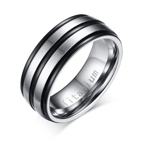Titanium Carbide Ring - CrumelsWorld
