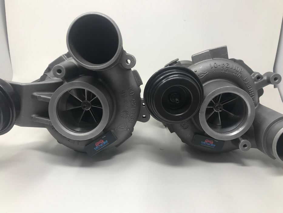 BMW S63 S63 (M5, M6, X5, M, & X6 M) Part Numbers 800075 - 800076 Ball Bearing Hybrid Turbos