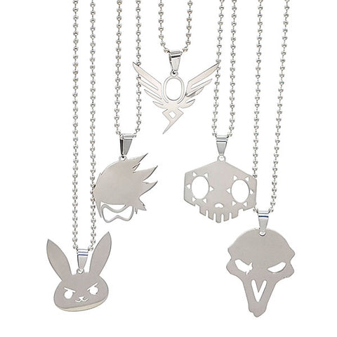 Overwatch Heroes Necklace