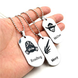 Overwatch Heroes Dog Tags