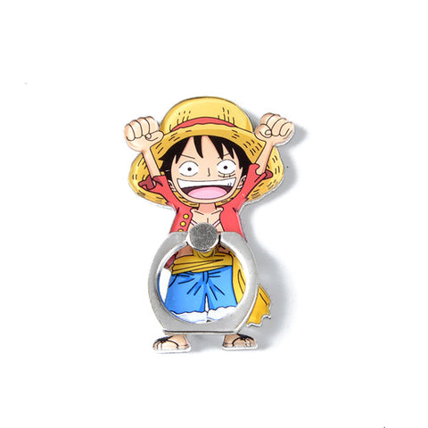 One Piece Rotatable Ring Smartphone Stand