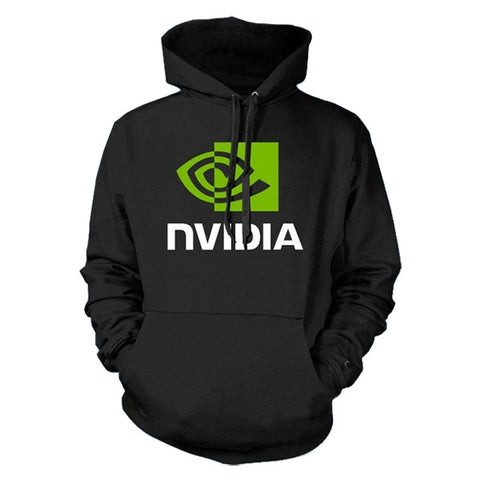 Nvidia Logo Pullover Hoodie