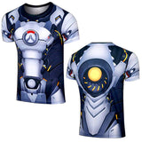 Overwatch Heroes Cosplay T-shirts