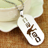 CS:GO Logo Metal Dog Tag