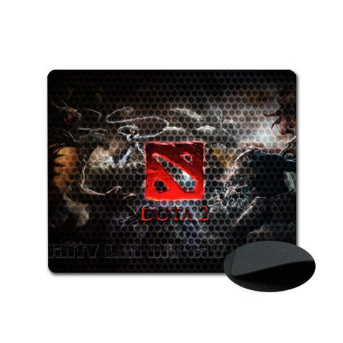 Dota 2 Mousepad - Red Logo