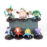 Dota 2 Collectible 7pc Action Figure Set