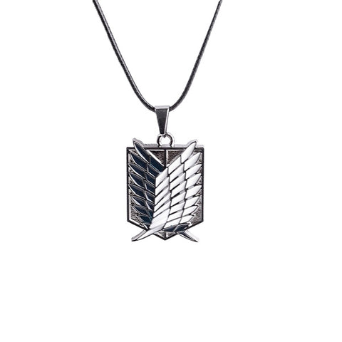 Attack on Titan Corps Logo Necklace
