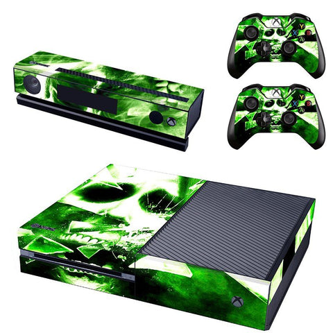 Microsoft Xbox One and Kinect Skin - Shattered Skull