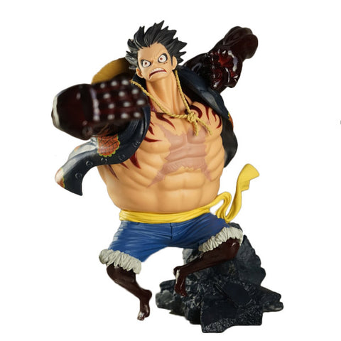 One Piece Monkey D. Luffy Gear Fourth Figure