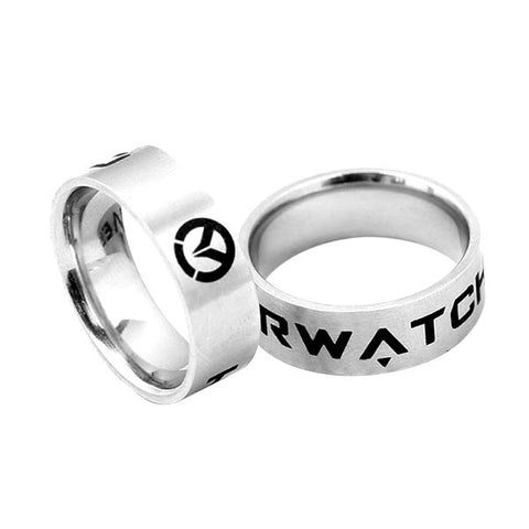 Overwatch Silver Ring
