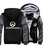 Overwatch Hoodie with Zipper