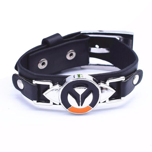 Overwatch Leather Wristband