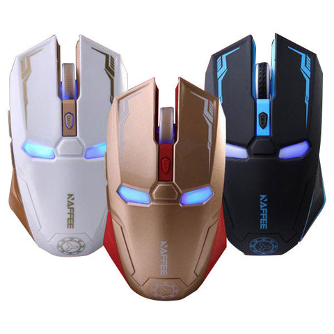 Iron Man 2400 DPI Wireless Gaming Mouse