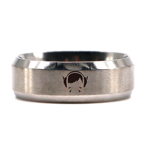 Overwatch All Heroes Ring - Silver
