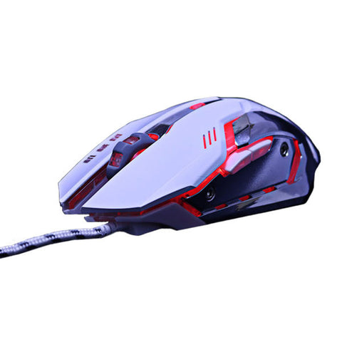 Silent 3200DPI Wired Gaming Mouse