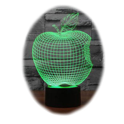 Apple 3D Table Lamp