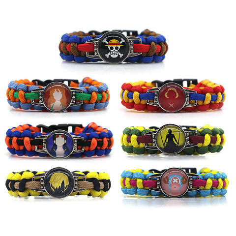One Piece Anime Bracelet Collection