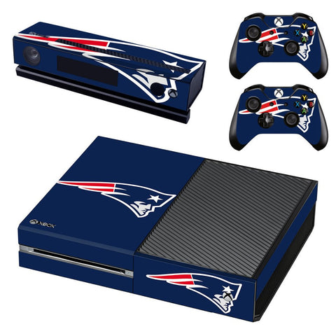 Microsoft Xbox One and Kinect Skin - New England Patriots