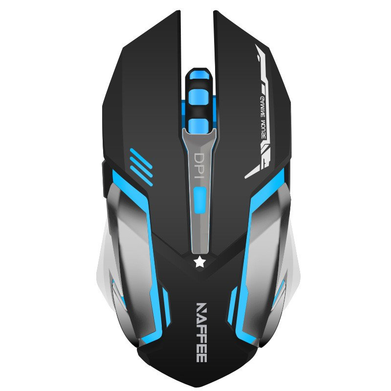 NAFFEE Built-in Rechargeable Battery Wireless Gaming Mouse