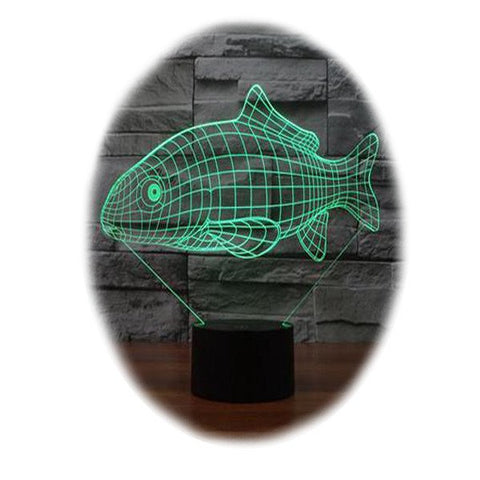 Fish 3D Table Lamp