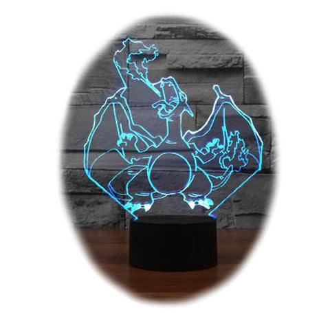 Pokemon Charizard 3D Table Lamp