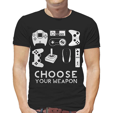 Gamer T-Shirt - Choose Your Weapon