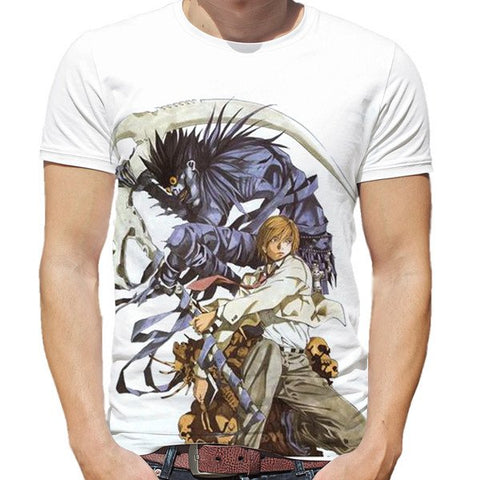 Death Note Light Shinigami T-Shirt