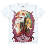 Death Note Light v L T-Shirt
