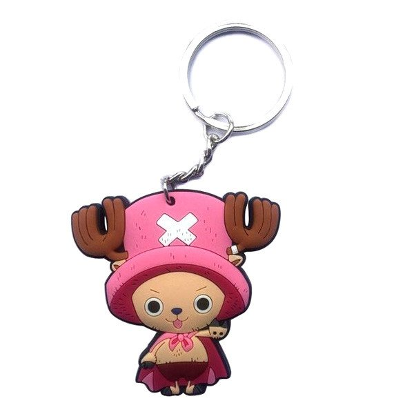 One Piece Rubber Keychain - Tony Tony Chopper