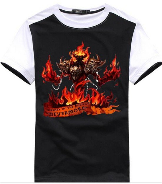 Dota 2 Hero Shadow Fiend Nevermore T-Shirt