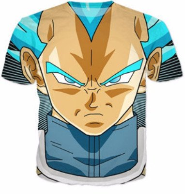 Dragon Ball Gymwear Vegeta T-Shirt