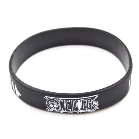 One Piece Silicone Wristband